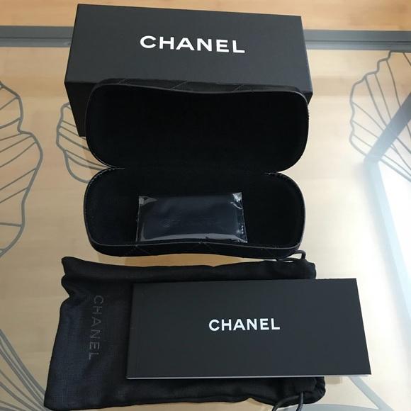 3e50c8a9665e CHANEL Accessories | Nwt Sunglass Box And Cases | Poshmark